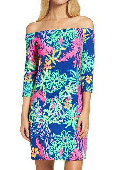1c87c28acf89ae Lilly Pulitzer Dresses & Skirts - NWOT LILLY PULITZER LAURANA OFF SHOULDER  DRESS M